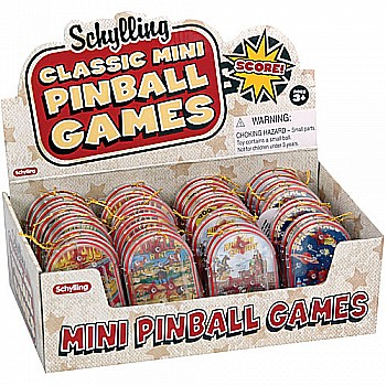 Mini Pin Ball Games