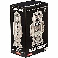 Metallic Robot Bank