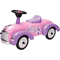 Pink Metal Speedster Ride On