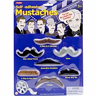 Mustaches Self Adhesive