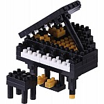 Nanoblock - Grand Piano Black