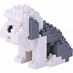 Nanoblock - Old English Sheepdog