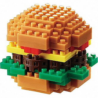 Nanoblocks - Hamburger