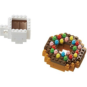 NanoBlocks - Donut & Coffee