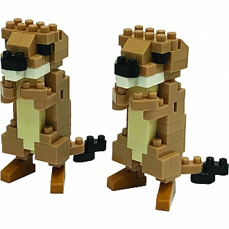 Nanoblocks - Prairie Dogs
