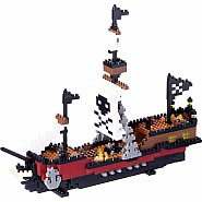 Nanoblock - Pirate Ship