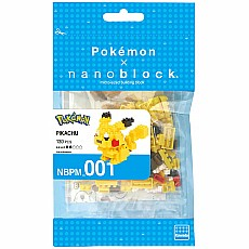 Nanoblocks Pokemon Pikachu