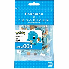 Nanoblocks - Squirtle - Pokemon
