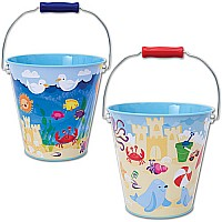 Beach Tin Pail