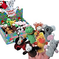 Plush Finger Puppets Assorted Styles