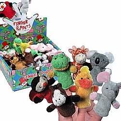 Plush Finger Puppets-Assorted, 1 each