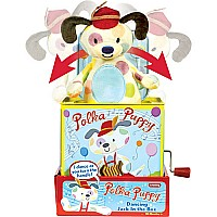 Polka Puppy Jack In Box