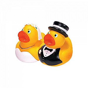 Rubber Duckies Bride & Groom