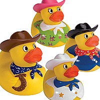 Rubber Duckies Cowboy