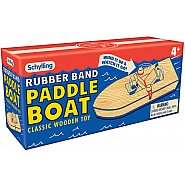 Paddle Boat - Rubber Band