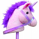 Starlight Unicorn Stick Horse