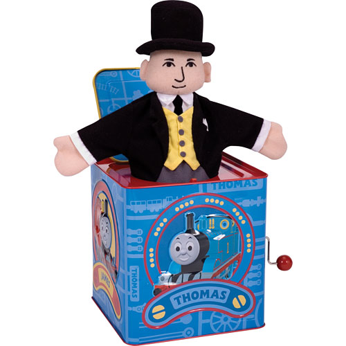 Thomas Jack In the Box - TTJB - Schylling- another great toy from Toy Werks