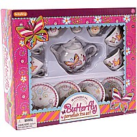 Whimsical Butterfly Teaset