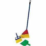 Broom & Dust Pan