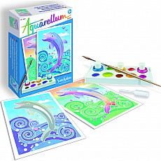 Aquarellum Mini - Dolphins