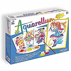Aquarellum Junior Magical Girls Paint Set
