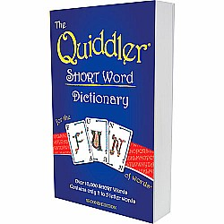 QUIDDLER SHORT Word Dictionary