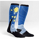 Extra Stretchy Knee-High Socks, Starry Night