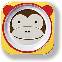 Monkey Melamine Zoo Bowl