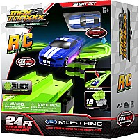 Max Traxxx Tracer Racers RC Stunt Set