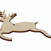 Santa's Little Helper Wooden Reindeer