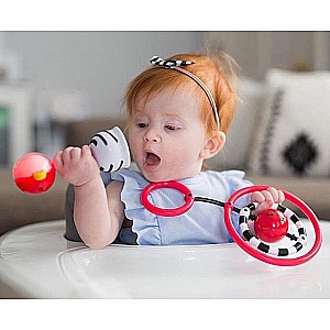 Nogginstick Developmental Light-up Rattle