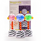 NogginStik Developmental Light-up Rattle