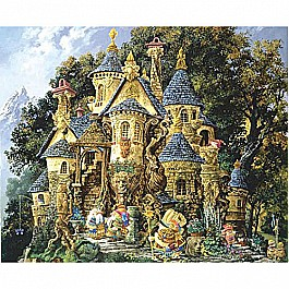 College of Magical Knowledge a 1500-Piece Jigsaw Puzzle by Sunsout Inc.
