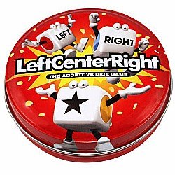 Left Center Right Dice Game - Styles Vary Tube/Tin