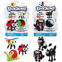 Bunchems pet and bug creation kit bundle 2 pack