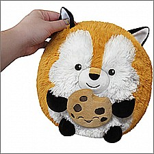 "Mini Fox w/ Cookie (7"")"