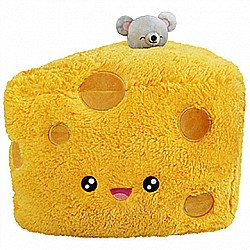 Squishables Comfort Food Cheese Wedge