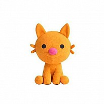 "Sago Mini - Jinja the Cat Mini Plush Stuffed Toy Animal (6"")"