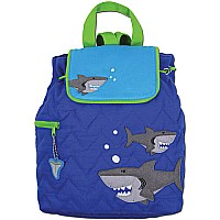 Quilted Backpack Shark