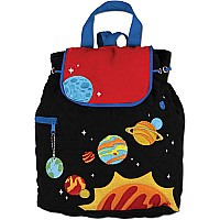 Quilted Backpack Space
