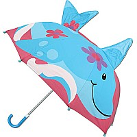 3 - D Umbrella Dolphin