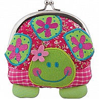 Coin Purse Kiss Lock, Turtle