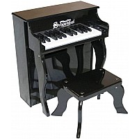 25 Key Elite Spinet in Black