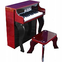 25 Key Elite Spinet in Mah-Black