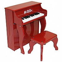 25 Key Elite Spinet in Red