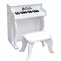 25 Key Elite Spinet in White