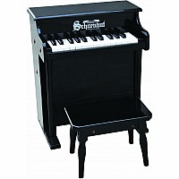 25 Key Traditional Spinet in Black