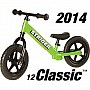 Strider 12 Classic No-Pedal Balance Bike - Green