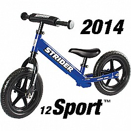 Strider 12 Sport No-Pedal Balance Bike - Blue