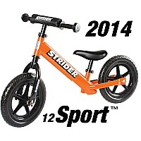 Strider 12 Sport No-Pedal Balance Bike - Orange